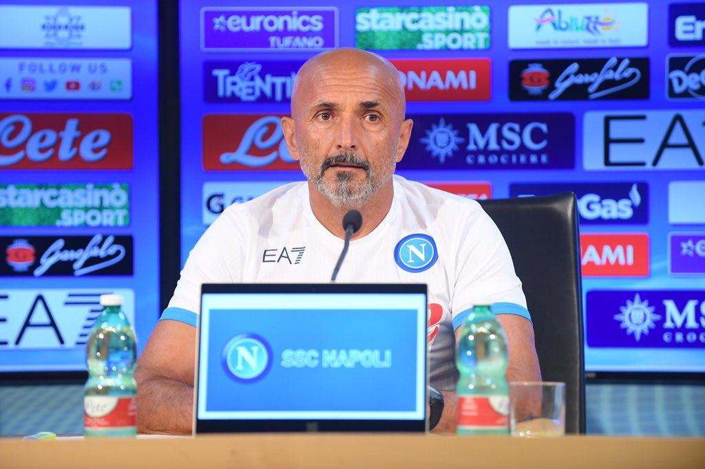 Spalletti Udinese Napoli