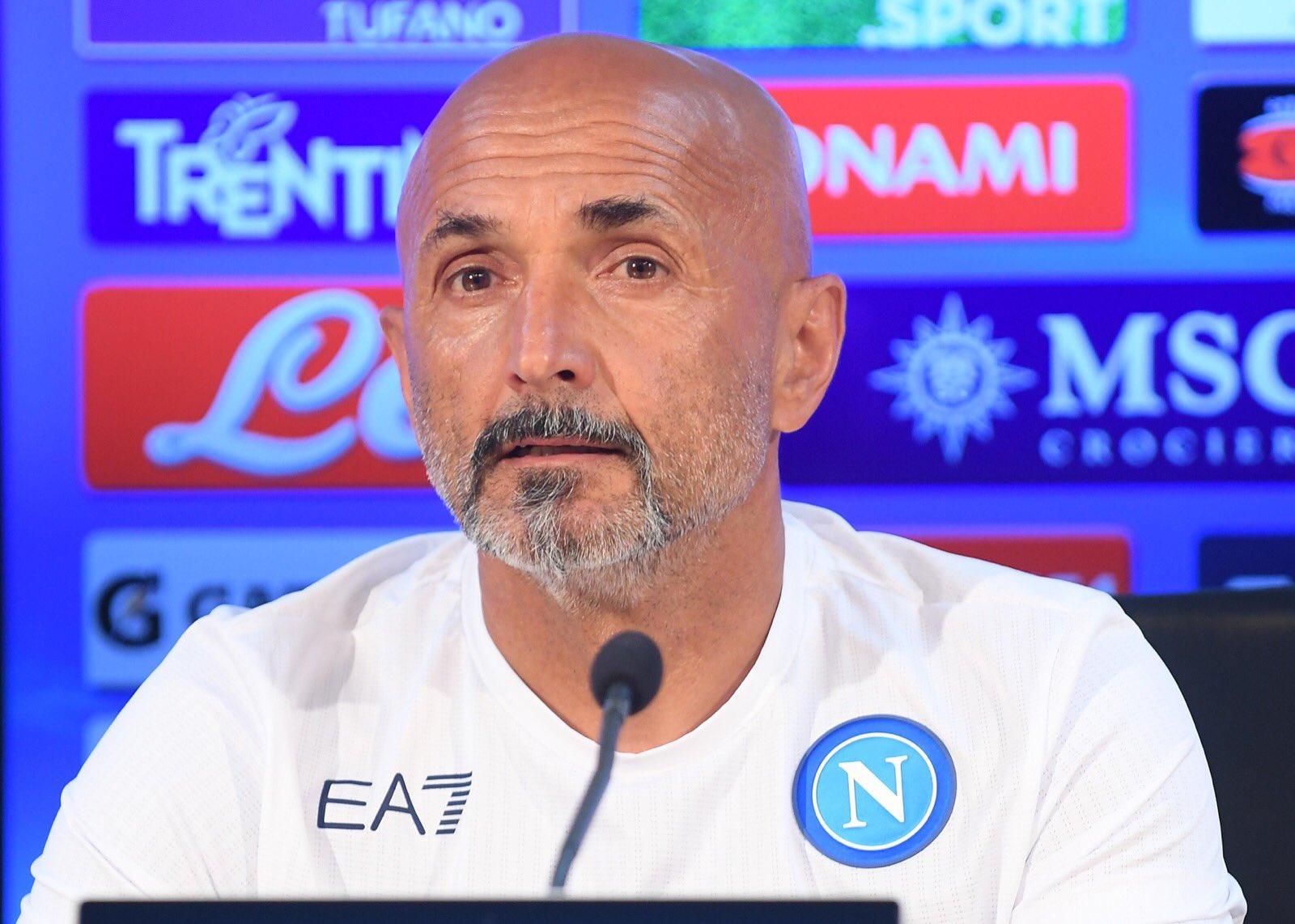 Spalletti Leicester Napoli