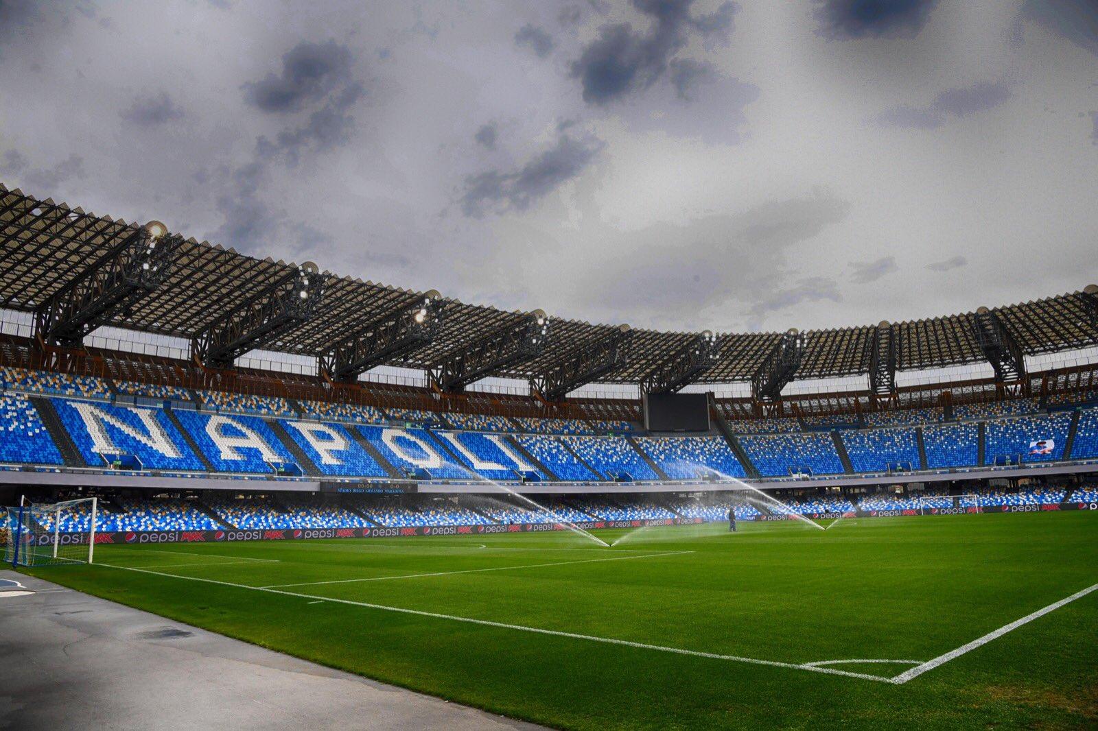 Napoli Cagliari Serie A diretta
