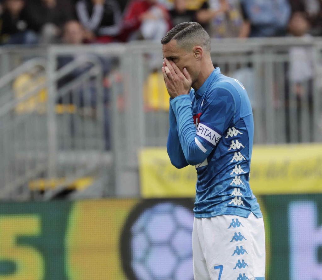 Napoli, contestazione Ultras a Frosinone: rigettano la maglia in ...