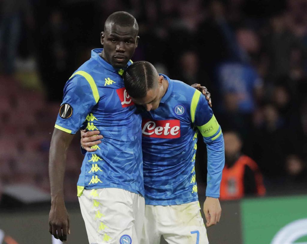 Napoli-Arsenal, Koulibaly e Callejon