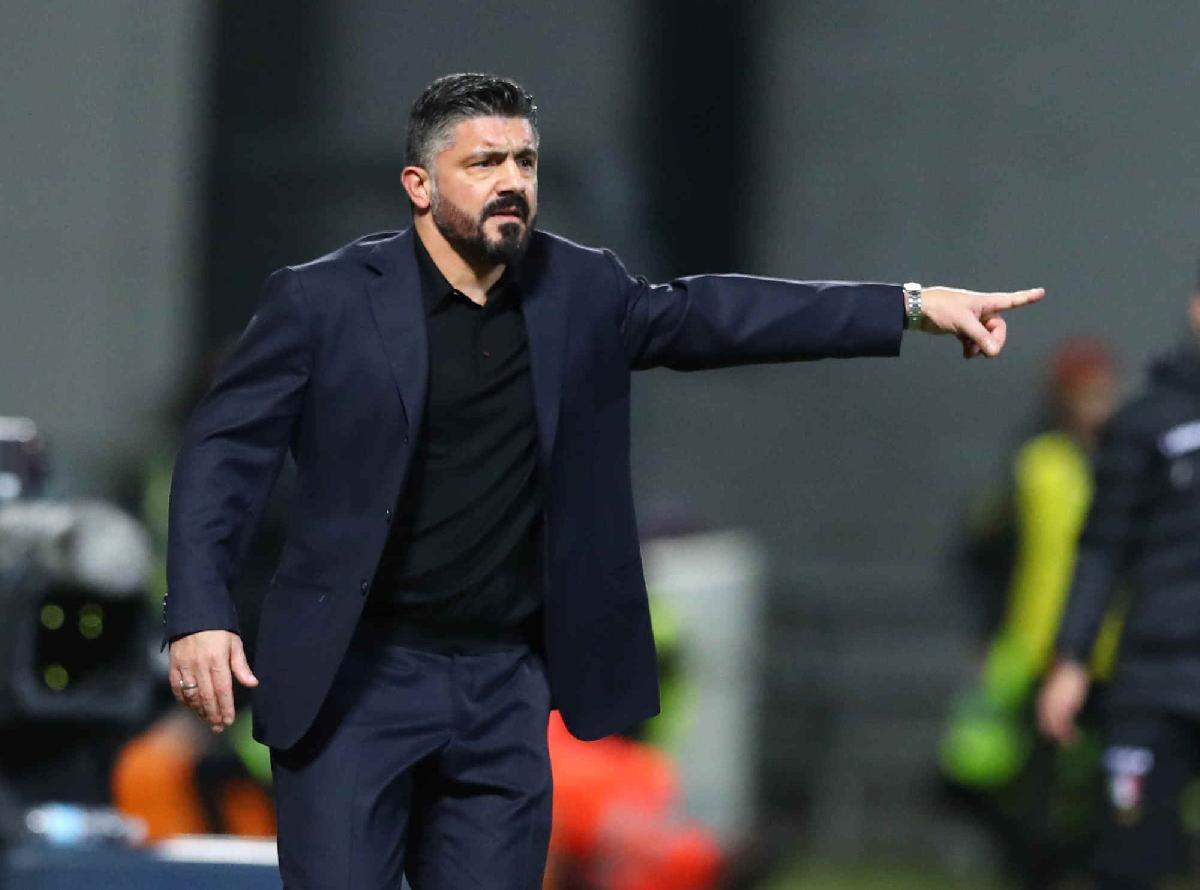 Gattuso, Inter Napoli