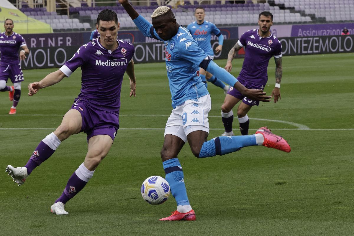 Fiorentina Milenkovic infortunio