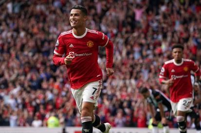 Gol Cristiano Ronaldo Manchester United-Newcastle
