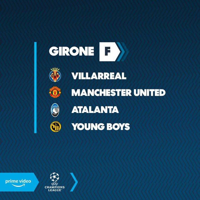 Girone Atalanta Champions
