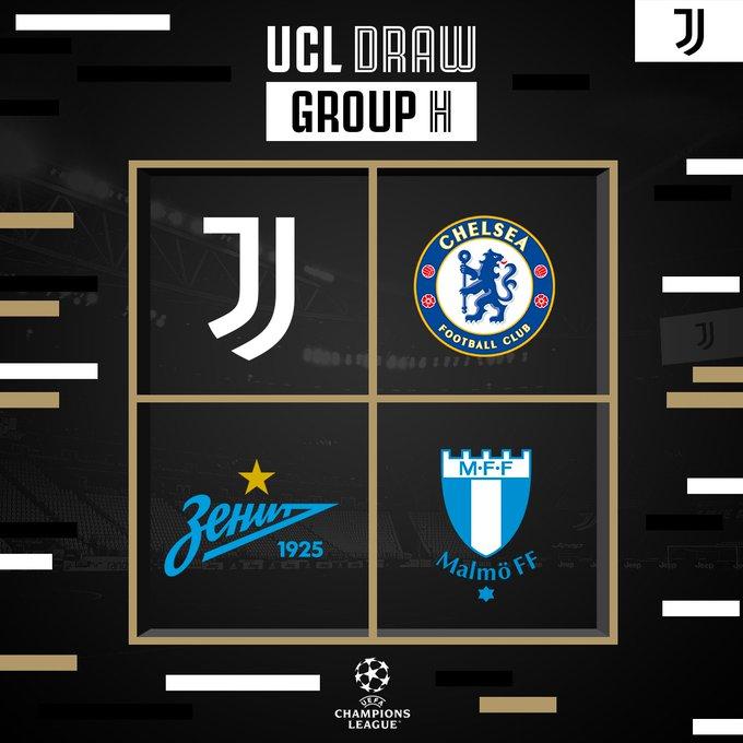 Girone Juventus champions