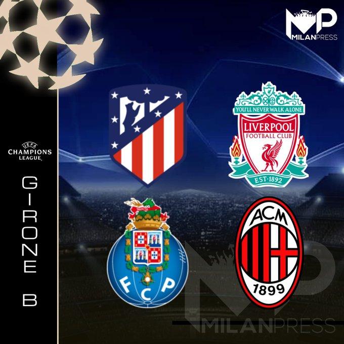 Girone Milan Champions