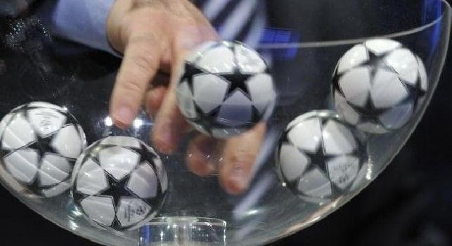 Champions League, ecco tutte le fasce della competizione