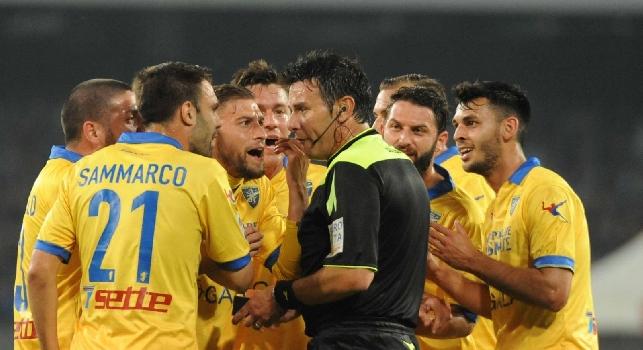 Scommesse anomale su Napoli-Frosinone.