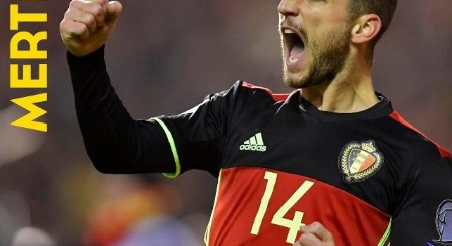 Napoli, Mertens vince il premio di Giocatore dell'anno in Belgio