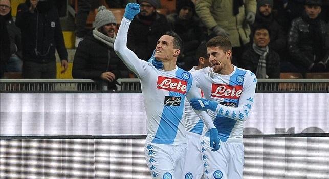 Milan-Napoli, le probabili scelte di Sarri: qualche problema in difesa