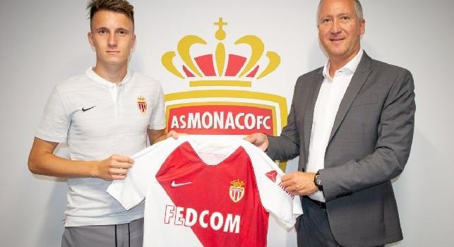 Terza Maglia AS Monaco Aleksandr GOLOVIN